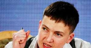 Надежда Савченко требует жителей Украины выйти на улицу: «Порошенко отправлял наших детей на верную смерть»