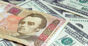 Обвал украинской валюты