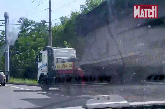 Свидетели сбитого «Боинга» - съёмки «Бука» в Донецке (ФОТО, ВИДЕО)
