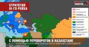 «Кольцо анаконды» - США хотят окончить операцию по окружению России