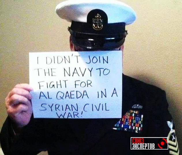 В армии США скандал: Обама, мы не станем воевать в Сирии за твоих боевиков! —  протестуют солдаты