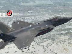 Упал F-35